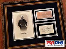 "ULYSSES S. GRANT * PSA/DNA * ""GENERAL"" Autograph SIGNED * President Civil War"