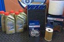KIT TAGLIANDO 4 FILTRI E 5 LT OLIO CASTROL 5W30 VW POLO 6R 6C 1.6 TDI DAL 2009