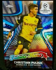 2018 Topps Chrome CHRISTIAN PULISIC Rookie Soccer Card FUTURE STARS