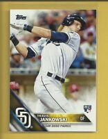 Travis Jankowski RC 2016 Topps Series 1 Rookie Card # 184 San Diego Padres