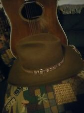 Stetson Cowboy Hat, size 7 3/8 long oval, Brown, Exc Condition, 4X Beaver