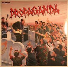PROPAGANDA NO WAVE II LP A&M UK 1979 THE POLICE SQUEEZE JOE JACKSON