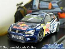 VW VOLKSWAGEN POLO R WRC RALLY CAR MODEL 1:43 SIZE MIKKELSEN FLOENE SCHUCO T3