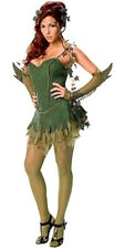 Poison Ivy Batman Villian Ladies Costume Evil Costume Medium