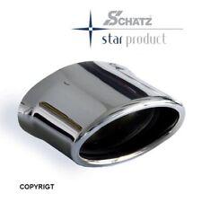 Schätz ® Chrom Endrohr für Mercedes SLK R170 Bj. 1996 bis 2004