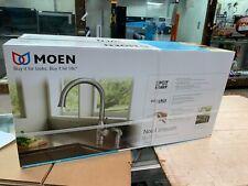 MOEN Noell 1-Handle Standard Kitchen Faucet Side Sprayer Spot Resist Stainless