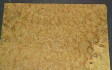 Myrtle Burl Raw Wood Veneer Sheet 15 X 16 Inches 150th 7655 39