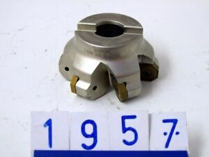 Iscar 16 Mill F45NM Milling Cutter, 6 Inserts, Bore 27mm, 92mm (1957)