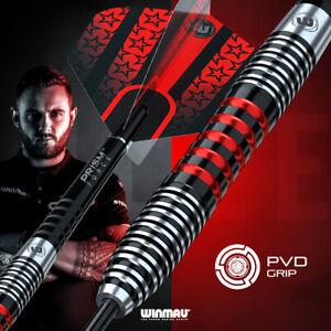 Winmau Joe Cullen PVD Grip 90% Tungsten Darts Set