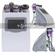 Spa Vacuum Tripolar RF Cavitation 5in1 Cellulite Removal Ultrasonic Slim Machine