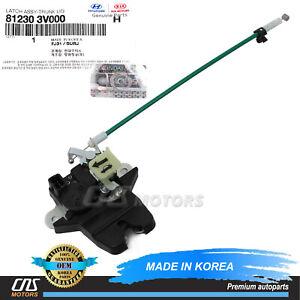 ⭐GENUINE⭐ Trunk Lock Latch Actuator for 2012-17 Hyundai Azera Cadenza 812303V000