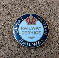 Great Western Railway War Service Pin Badge (First World War Reproduction)