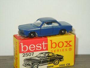 BMW 2000CS - Best Box 2507 Holland in Box *47557
