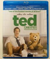 TED (Blu-ray Disc,DVD, 2012, 2-Disc Set, Unrated)