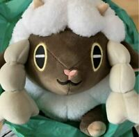 Pokemon Center Original Wooloo Cushion Plush Mocchiri Manmaru