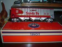 Lionel 1901330 Santa fe LOTS Warbonnet Coal Hopper W/Coal Load,MINT In Shipper !
