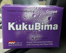 10 Boxes KUKU BIMA ENER-G Drink Energy Boost Halal (6sachets/Box) Free Delivery