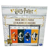NEW, Harry Potter House Crests 300-Piece Jigsaw Puzzle - Spinmaster