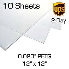 Face Shield Plastic Film Sheets 0.020