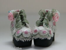 Custom Lace SHOES Boots For Blythe/Pullip/Lalaloopsy/Hujoo/Obitsu/Dal: B3_211