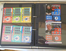 Huge Collection of 337 UNSCRATCHED UK Lottery MINT Condition Scratchcards