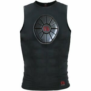 G-Form YSN0102 Black Youth Large Sternum Safety Chest Guard Protective Shirt