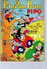 PIM PAM POUM PIPO  NUMERO  108  EDITIONS LUG 1970 TBE