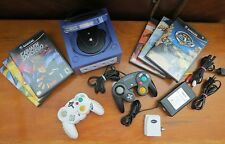Nintendo GAMECUBE Indigo Console (NTSC) Bundle -Model: DOL-001(USA)