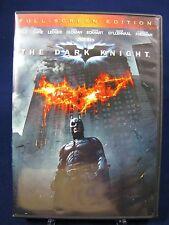 The Dark Knight (DVD, 2008, Full Frame) Like New