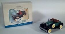 Hallmark Ornament Vintage 1931 Model A Ford Roadster #1 in series Die Cast 1998