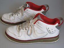Nike AJF Air Jordan Fusion VI 6 5/8 White/Varsity Red 343095-161 Men's SZ 13