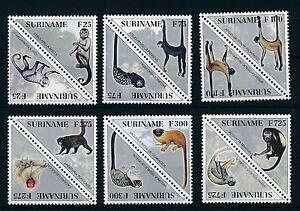 [SU920] Suriname Surinam 1997 Primates Monkeys Triangles  MNH