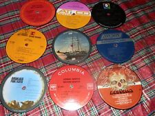 Record Label Coasters (Set of 5) Classic Rock