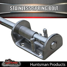X1 Truck Trailer Stainless Spring Bolt Latch Catch. 12X160MM. Tail Gate 4x4