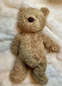 "Jellycat London Brown Bartholomew Teddy Bear Soft Fluffy Plush Toy 10"""