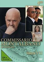 COMMISSARIO MONTALBANO - VOL.7 4 DVD NEU