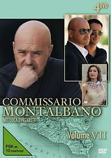 COMMISSARIO MONTALBANO - VOL.7 4 DVD NEU