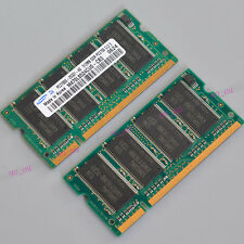 Samsung 1GB (2X512MB) PC2700 DDR333 200-PIN 333Mhz Laptop MEMORY SO-DIMM RAM 1GB
