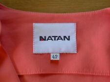 NATAN superbe robe + ceinture couleur saumon T 42