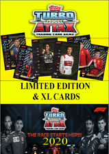 TOPPS F1 TURBO ATTAX LIMITED EDITION & XL CARDS (CHOOSE YOUR NUMBER) 2020