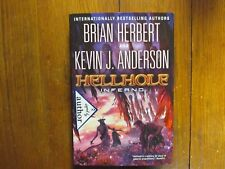 """KEVIN J. ANDERSON  Signed Book (""""HELLHOLE  INFERNO""""-2014  First Edition Hardback"""