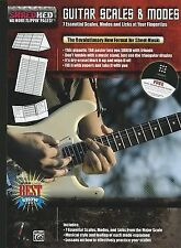 USED (LN) Guitar Scales & Modes: 7 Essential Scales, Modes, and Licks at Your Fi