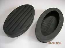 MG TD TF BRAKE CLUTCH PEDAL PADS RUBBER PAD
