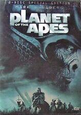 NEW 2DVD SET // TIM BURTON //  Planet of the Apes // Mark Wahlberg, Tim Roth,