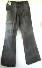 """BIGSTAR TAKER CARGO JEANS, WAIST 26"""", LEG 34"""", BRAND NEW WITH TAGS, RRP £54.99"""