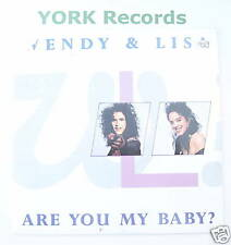 """WENDY & LISA - Are You My Baby - Ex Con 7"""" Single"""