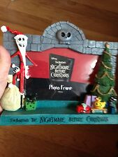 NEW DISNEY NIGHTMARE BEFORE CHRISTMAS JACK S. PICTURE FRAME WITH FREE SHIPPING