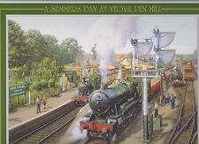 Jigsaw Puzzle Summer Day Yeovil Pen Mill Station: GWR No 1004 County of Somerset