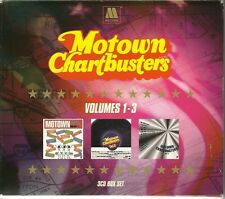 MOTOWN CHARTBUSTERS VOLUMES 1, 2 & 3, BLOWIN' IN THE WIND & MORE - 3 CD BOX SET