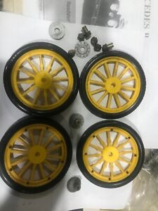 1/8 scale pocher 1907 fiat wheels